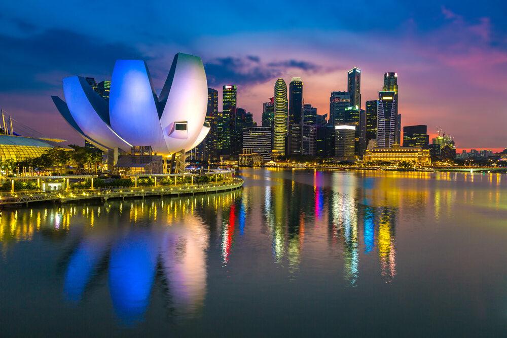 podłączyć singapur aplikacji
