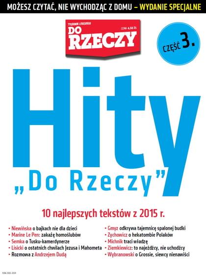 Hity Do Rzeczy z 2015 r.